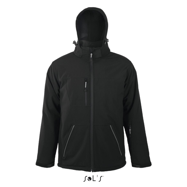 Rock Men winter softshell 312 Black