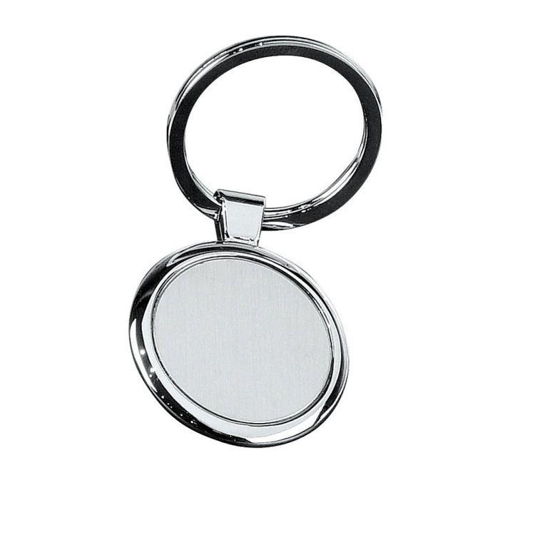 pyöreä metalline avainperä