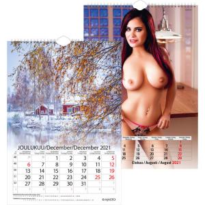 Maisematyttö kalenteri