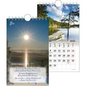 Maisemakortti-kalenteri 2022