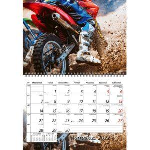 Moottoriurheilu kalenteri 2022