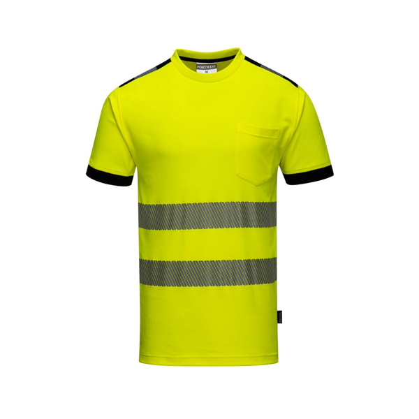 T181 Hi-Vis Vision T-paita Keltainen