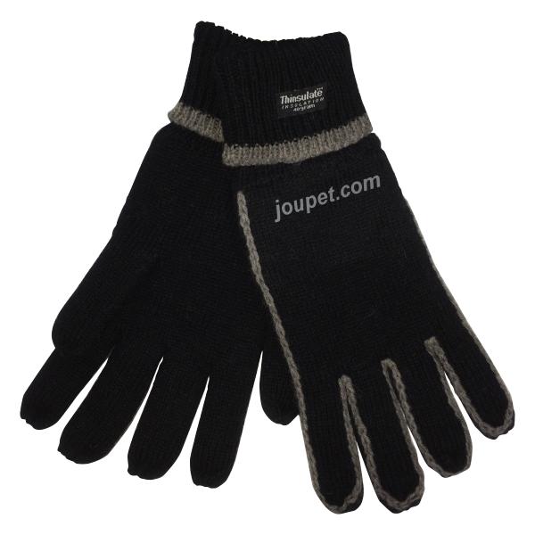 Comfort Thinsulate sormikkaat musta